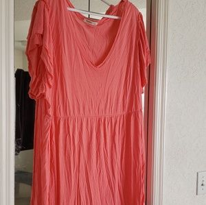 NWOT Peachy Pink Old Navy Blouse
